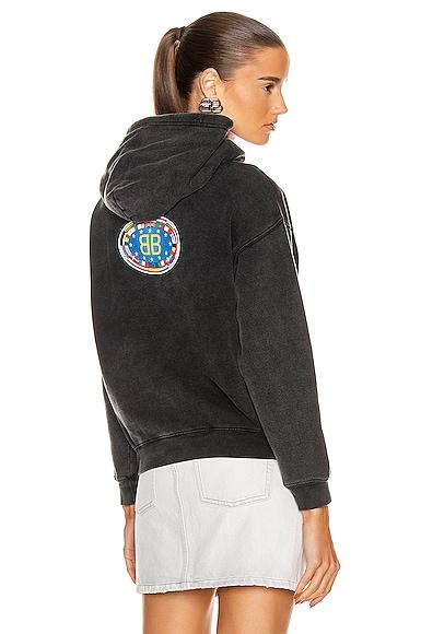 EU BB Shrunk Hooded Sweatshirt