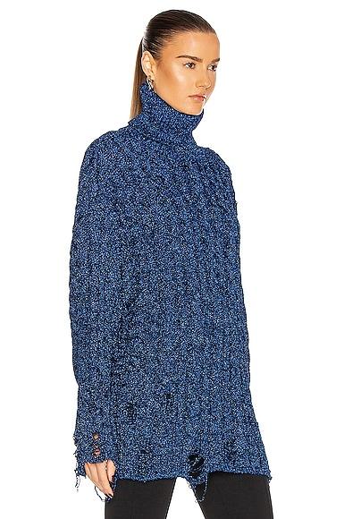 BALENCIAGA Sweaters LONG SLEEVE TURTLENECK SWEATER