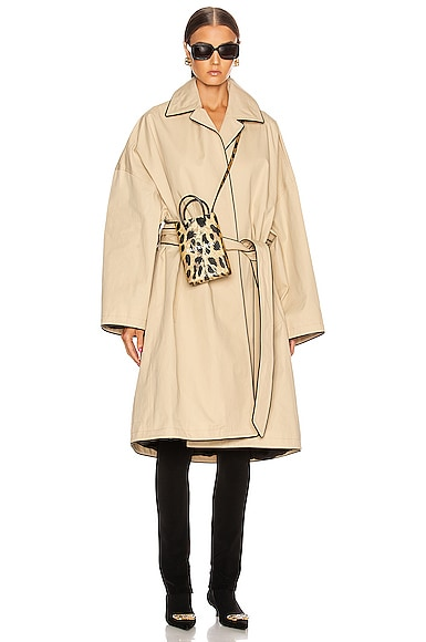 Short Cocoon Coat