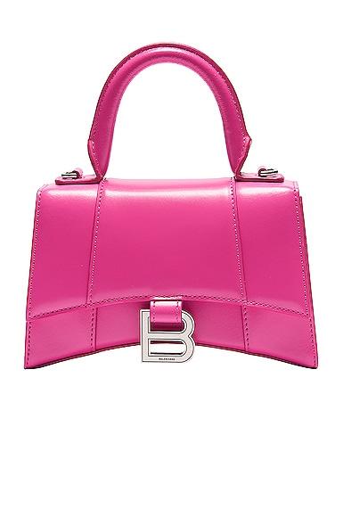 Xs Hourglass Top Handle Bag by Balenciaga