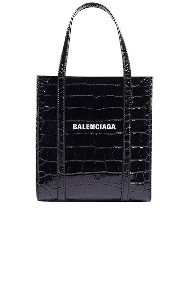 XXS Embossed Croc Everyday Tote Bag