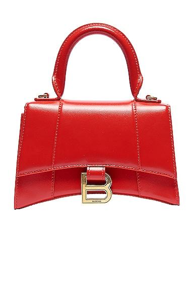 XS Hourglass Top Handle Bag
