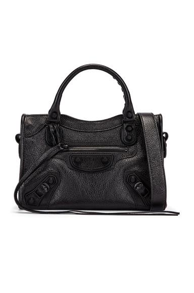 Mini Leather City Bag