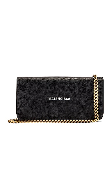 Continental Wallet on Chain Bag
