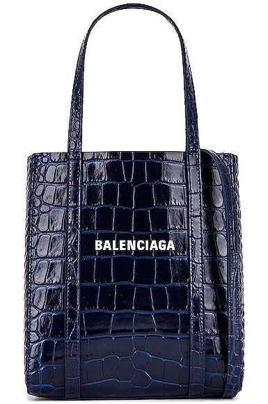 XXS Embossed Croc Everyday Tote