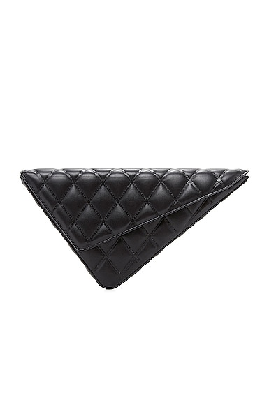 Triangle Clutch with Strap