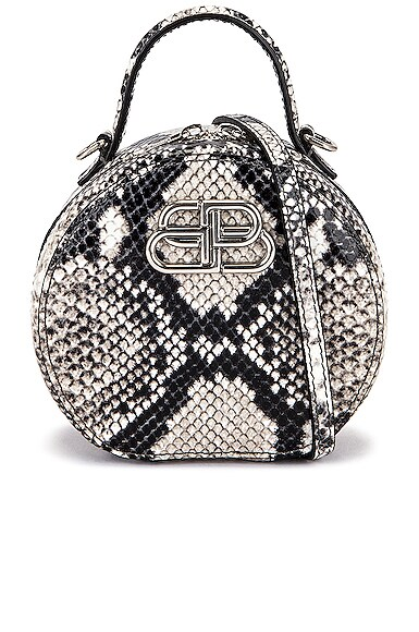 Balenciaga MINI VANITY ROUND BAG