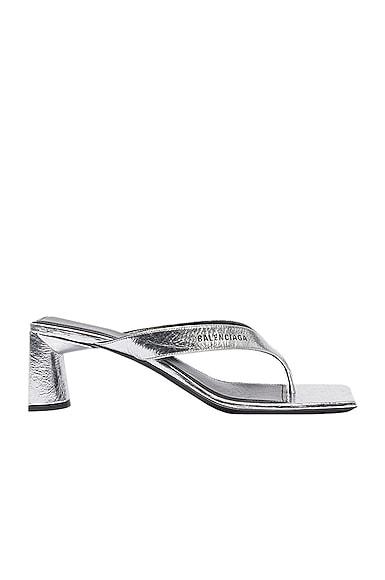 Double Square Sandals