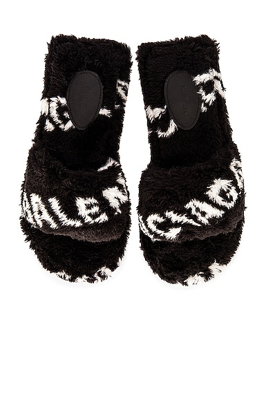 Balenciaga FLUFFY SANDALS