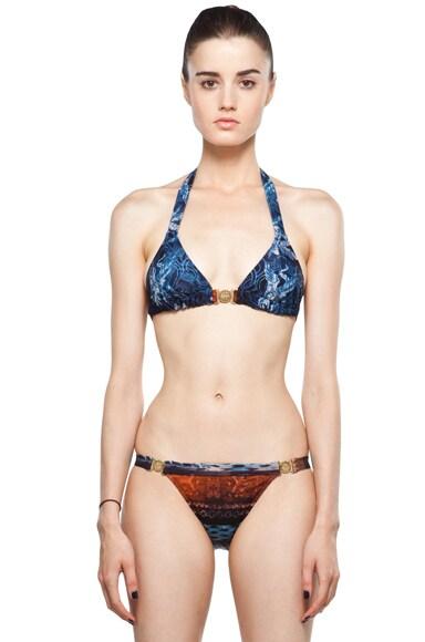 Halter Front Closure Bikini