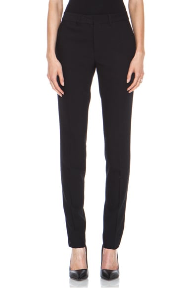 Fully Tailored Poly-Blend Skinny Pant