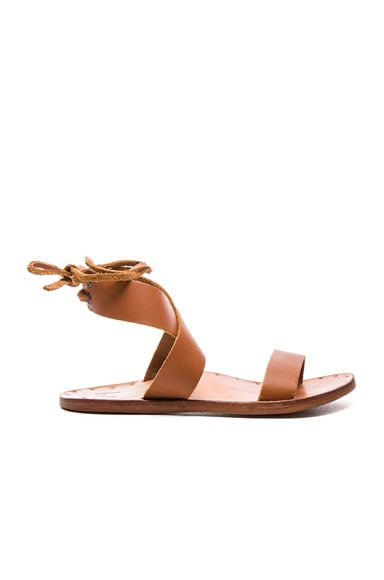 Leather Cardinal Sandals