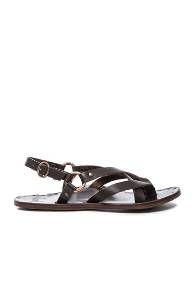 Leather Sparrow Sandals