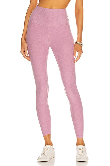 Beyond Yoga Spacedye Caught In The Midi High Waisted Legging in Pink