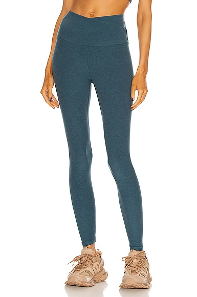 Beyond Yoga At Your Leisure Legging in Blue