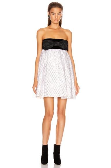 Plumetis Mini Dress