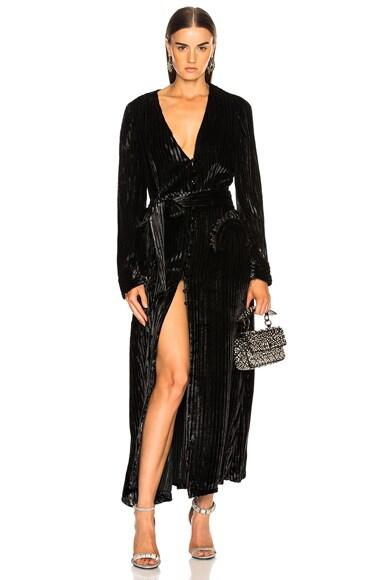 Vanity Sequin Stripe Ballroom Blazer
