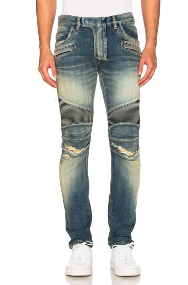 Biker Stretch Jeans