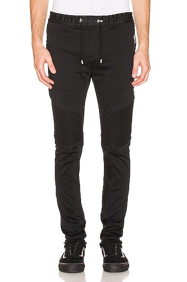 Ribbed Elastic Chino Pants