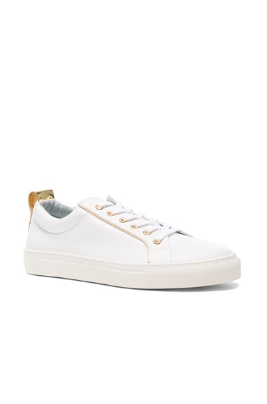 Gold Piping Sneakers