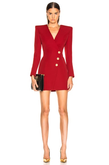 Wrap Blazer Dress