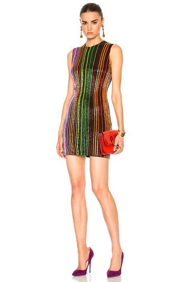 Sequin Stripe Mini