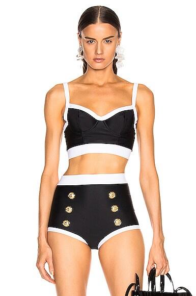 Vintage Style Bikini Top