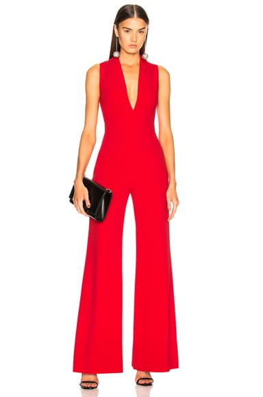 Rolled Collar Jumpsuit