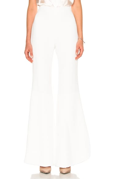 Petal Layered Bell Bottom Pant