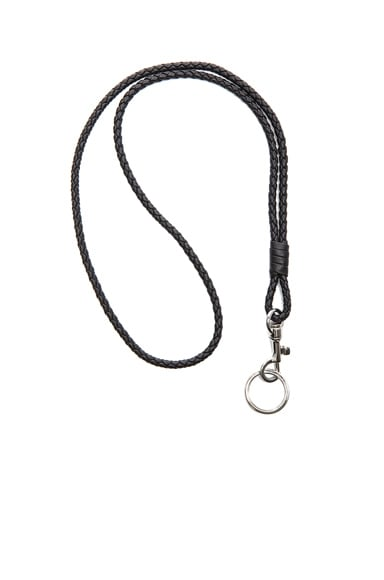 Inrecciato Nappa Leather Key Holder