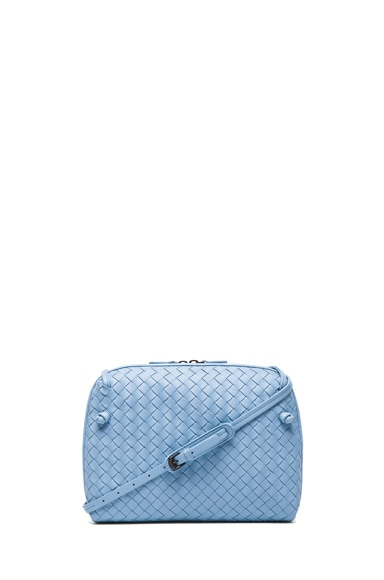 Woven Messenger Bag