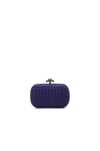 Ayers Satin Knot Clutch