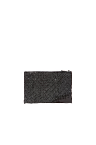 Metallic Ayers Zip Top Pouch
