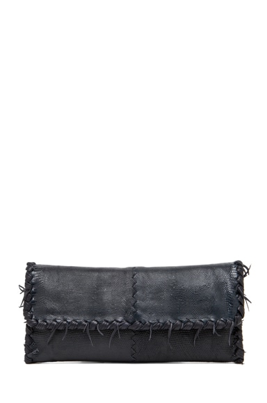 Stucco Fuzzy Napa Clutch