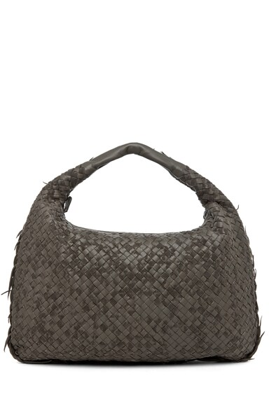 Large Intrecciato Velours Hobo Bag