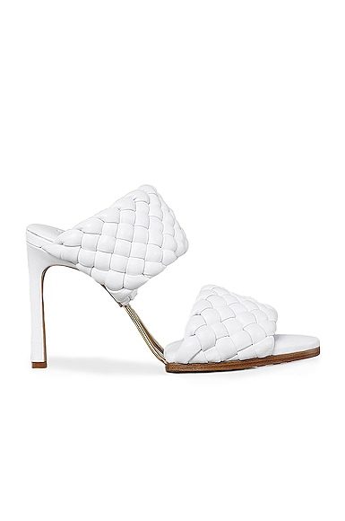 Lido Leather Woven Sandals