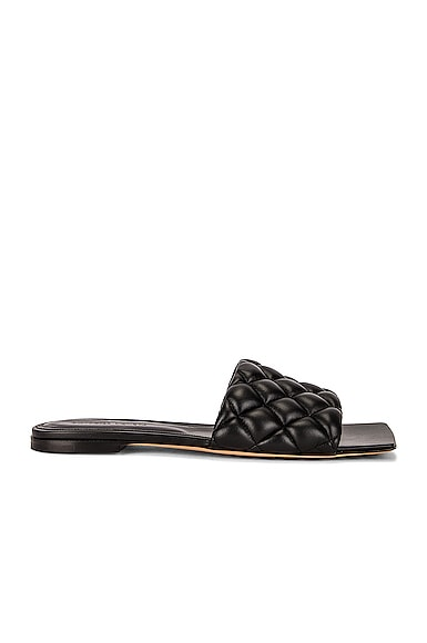 Flat Quilted Sandals
