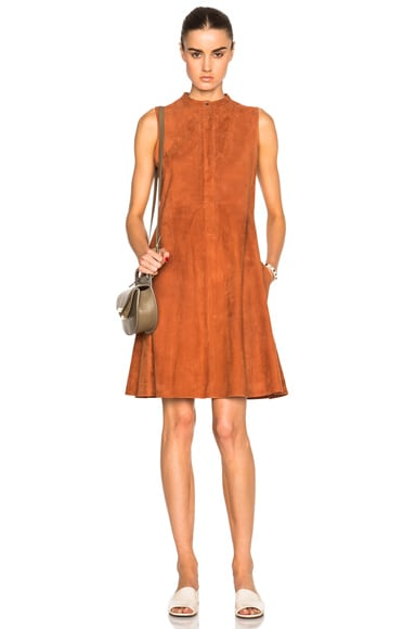 Suede Larissa Dress