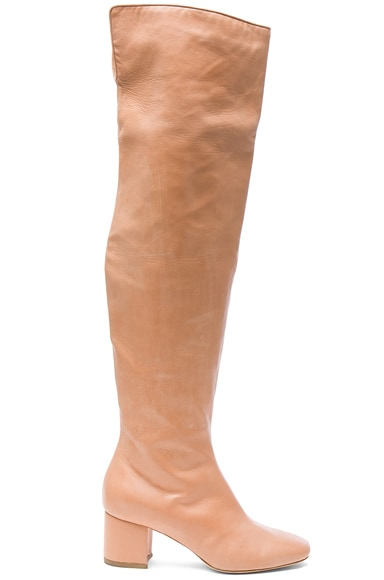 for FWRD Over the Knee Leather Kaya Boots
