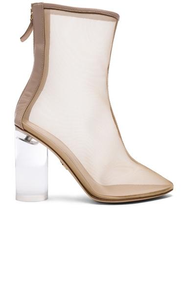 Mesh Bianca Boots