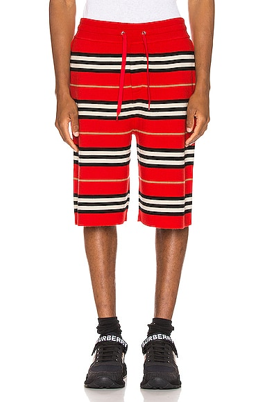 icon-stripe-bermuda-shorts by burberry