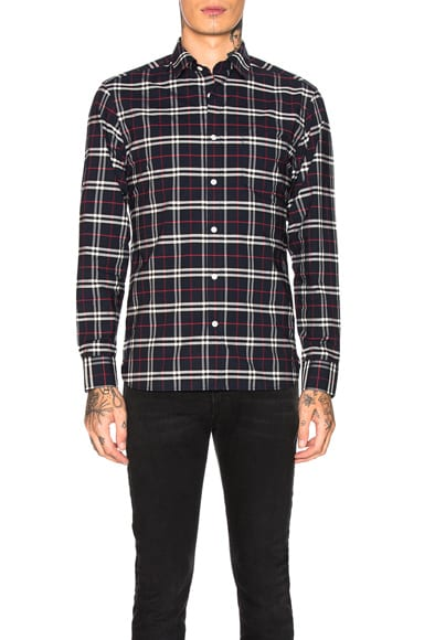 George Small Scale Checkered Flannel