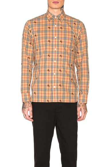 Edward Plaid Long Sleeve