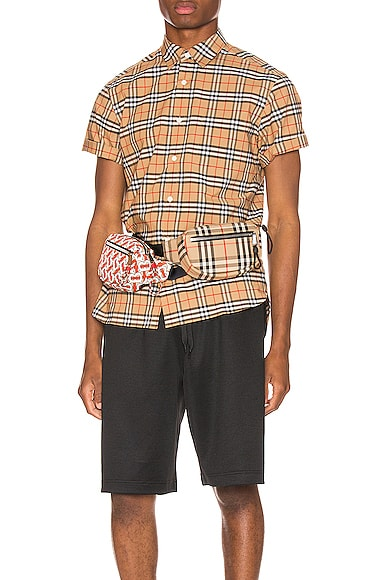 George Small Stretch Check Shirt