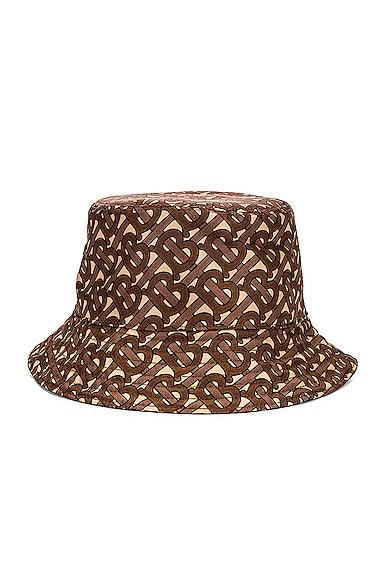 Monogram Nylon Bucket Hat
