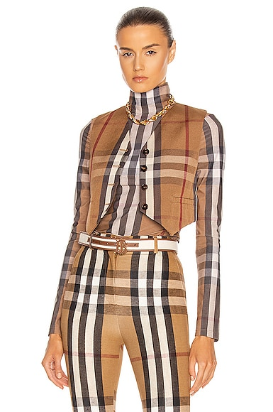 Burberry CROPPED VEST