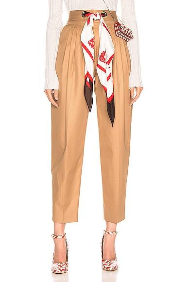 Silk Scarf Trouser