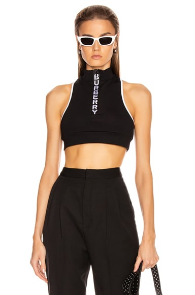 Zip Crop Top