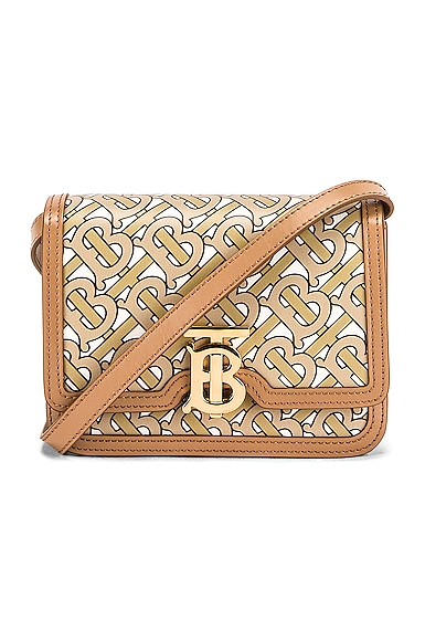 Mini TB Monogram Crossbody Bag