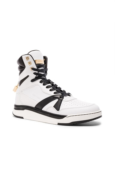 150MM Leather Sneakers